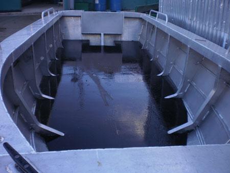 производство корпусов алюминиевых лодок