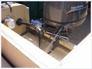 переделка катера амур под подвесной мотор фото