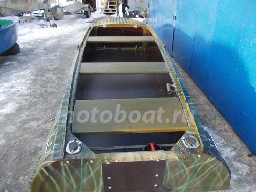 Ремонт и покраска лодки казанка своими руками 2