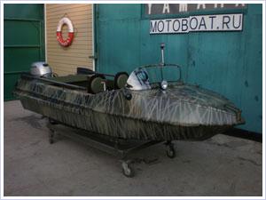 Тюнинг мотолодки Неман-1