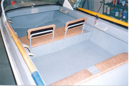 восстановление лодок неман