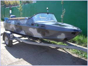 Тюнинг мотолодки Неман-2