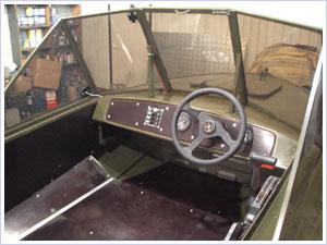 установка приборов на лодке