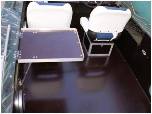 ящик-сиденье в лодку пвх