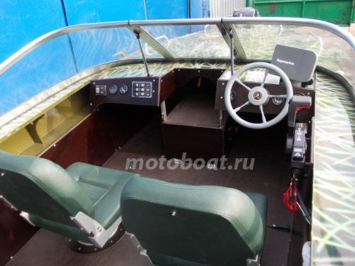 консоль для лодки днепр