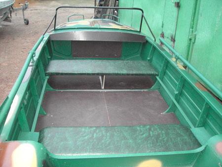 отреставрированные лодки